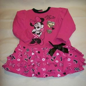 Disney Minnie Mouse Dress - Size 24M